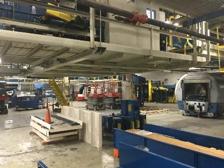 GTAA Baggage Handling Construction